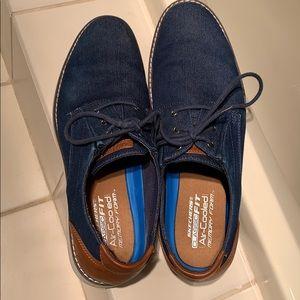 Men's denim Skechers 11.5 shoes